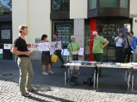 BDS: Informations-Stand in Bonn
