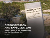 Dispossession and Exploitation - Israel's Policy in the Jordan Valley and Northern Dead Sea