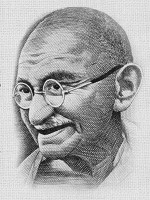 Mahatma Gandhi rejected zionism