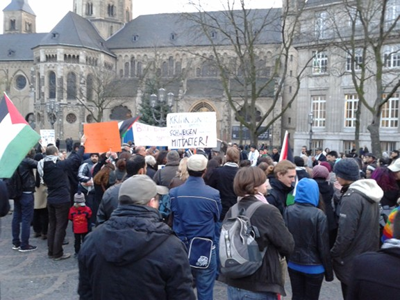 Gaza Demo in Bonn