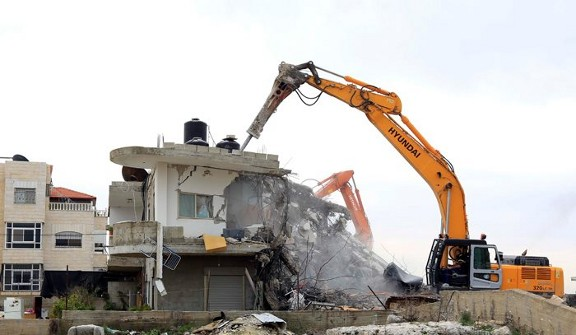 Israel destroying palestinian lifes in Jerusalem